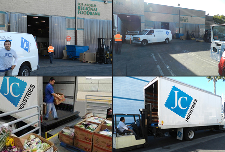 JCI helps feed the homeless with Los Angeles Food Bank